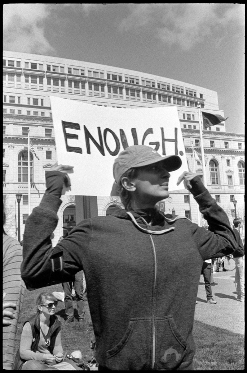 The March For Our Lives, San Francisco. March 24th, 2018.