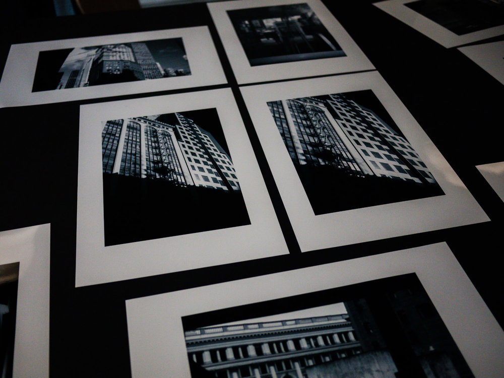 Final prints submitted by Ashley Davies