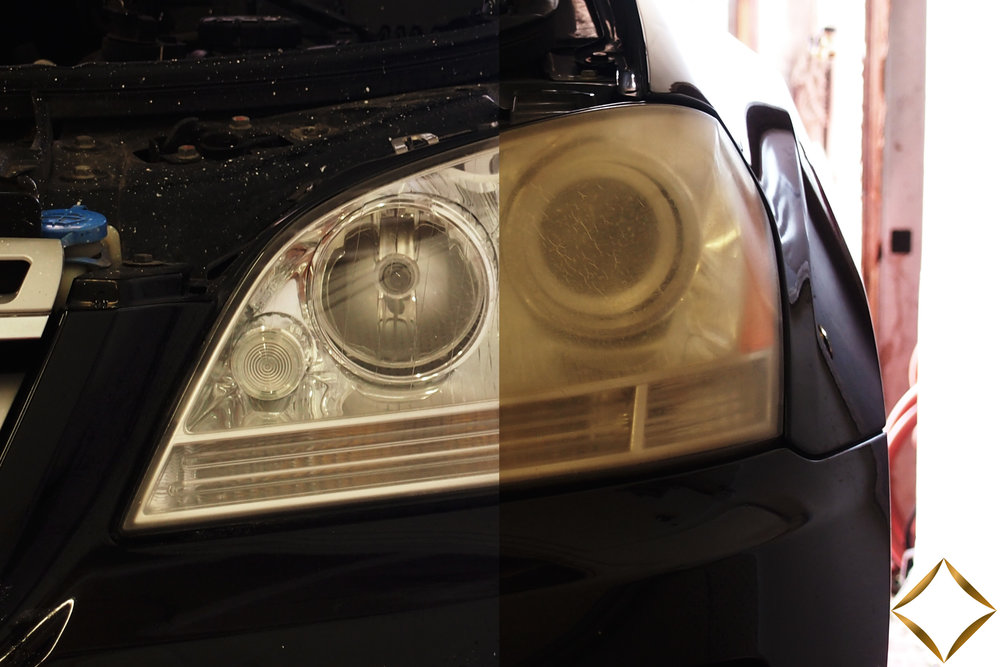 Before & After Full Headlight Restoration