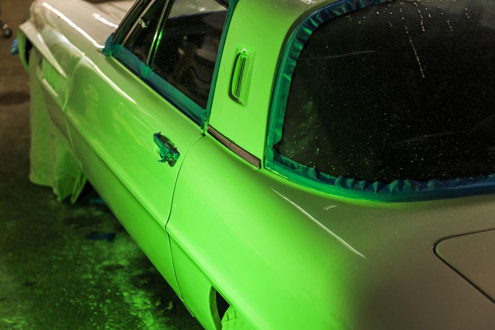 Mazda Cosmo Orange Peel Removal Glisten Detailing Minneapolis