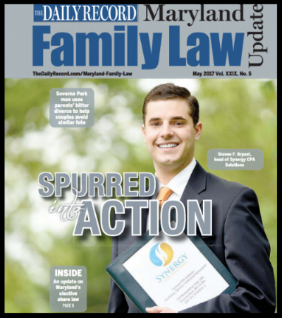 Featured Story!!! - We are proud to announce that our firm was featured as the cover story in the Family Law Edition of the Maryland Daily Record!