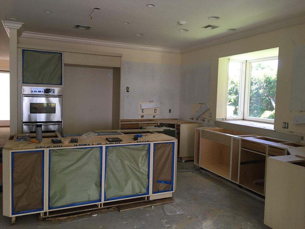 Kitchen Demolition | Seagrove Riverfront