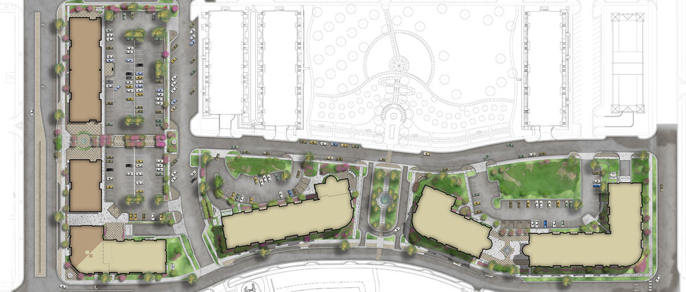 Mixed-Use Site Plan Design
