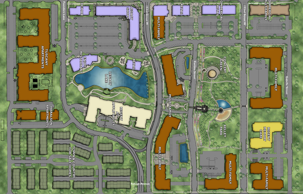 Mixed-Use Site Plan