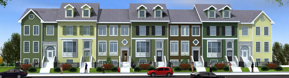For-Sale Rowhome Design