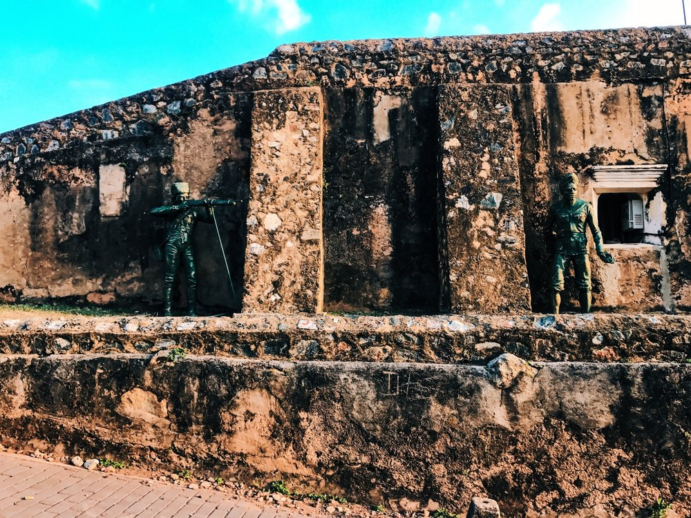 Galle Fort Wall