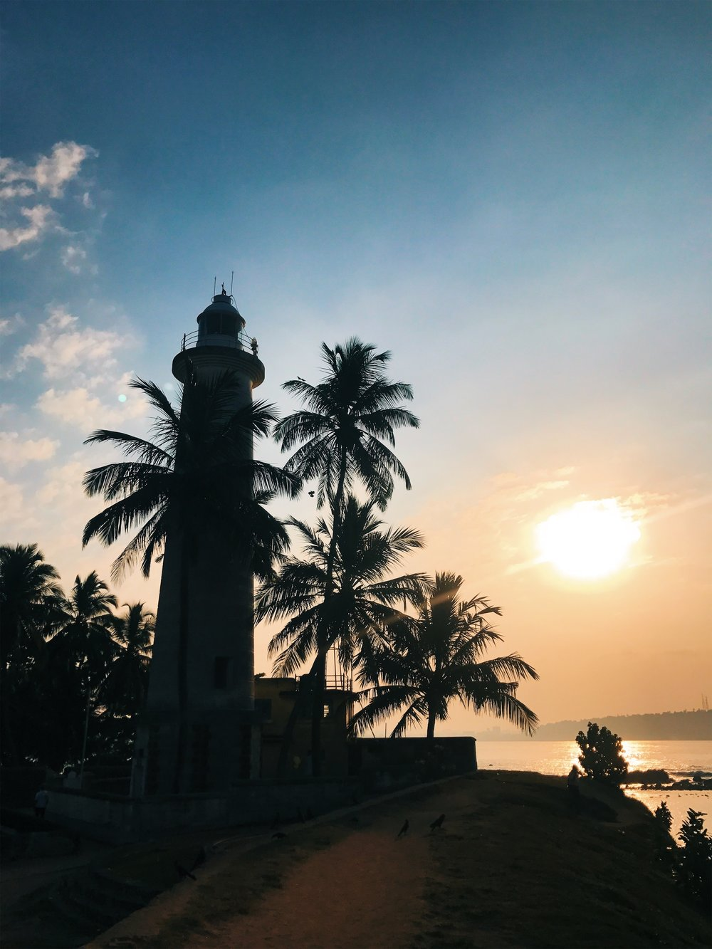 Sunrise at Galle Fort
