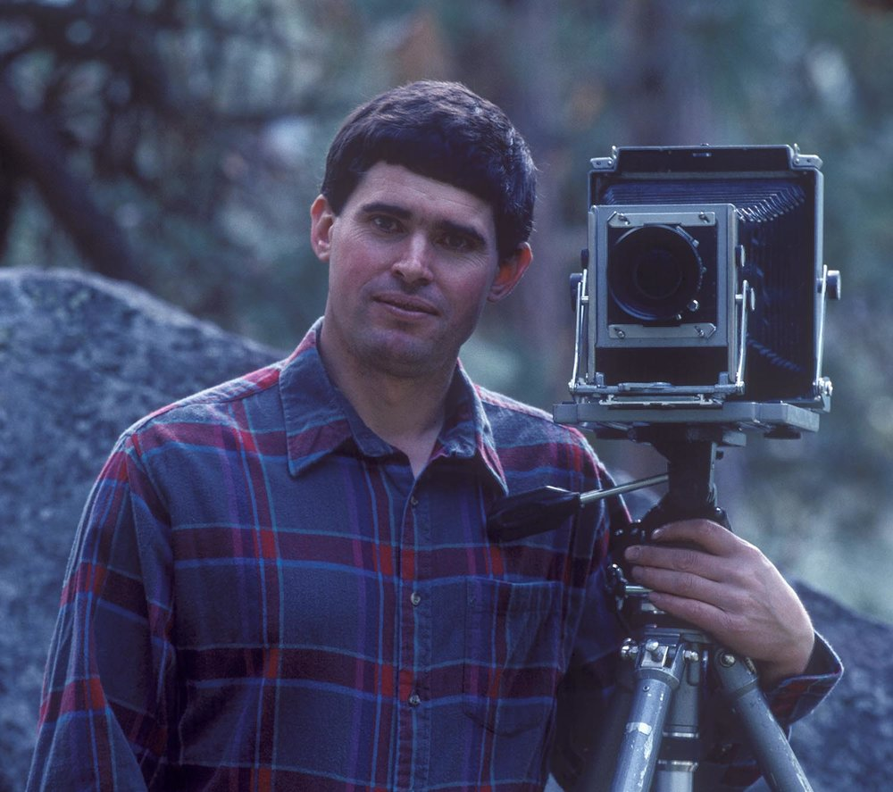 John F Marshall circa 1990.  My focus at the time was 4x5 landscape photography.  I loaded one sheet of film at a time in my closet, and hauled heavy equipment over many a mountain pass.