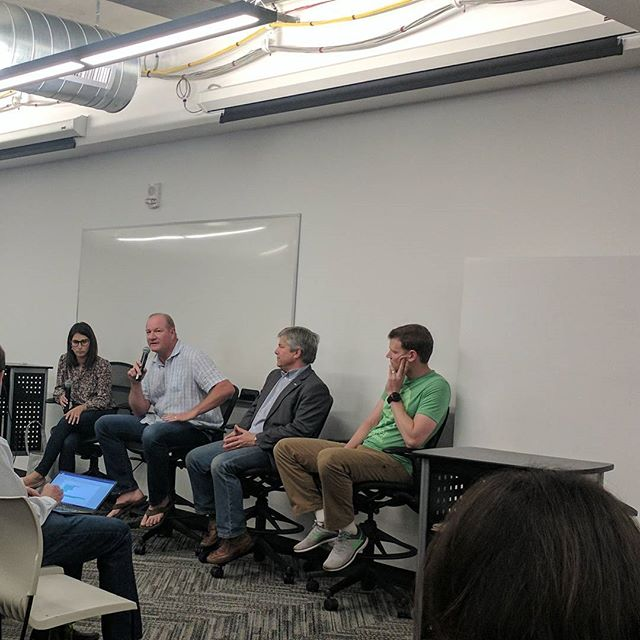 @marcnager, Managing Director of TVA on The State of Venture in Colorado panel at #boulderstartupweek #bsw2017