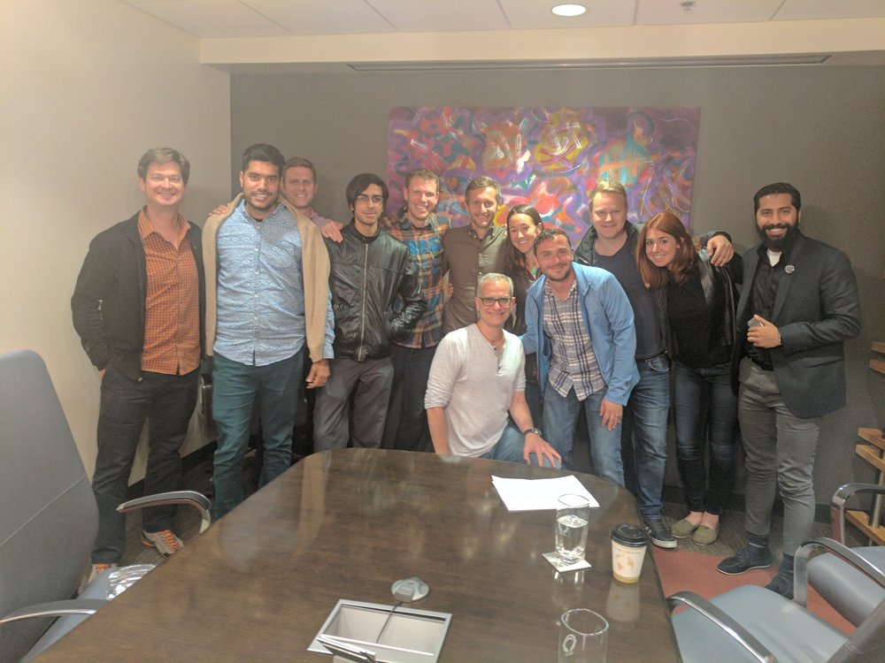 Group coaching session with Jerry Colonna(TVA Mentor) and Dan Putt,Founders of Reboot.io