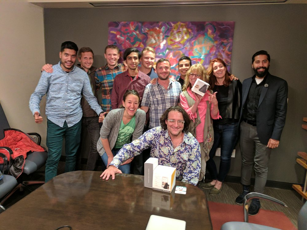 Group session with the legendary Brad Feld, Managing Director at Foundry Group
