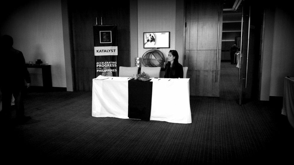 Katalyst.ph HIMAP Registration Table Ascott Bonifacio Global City Manila