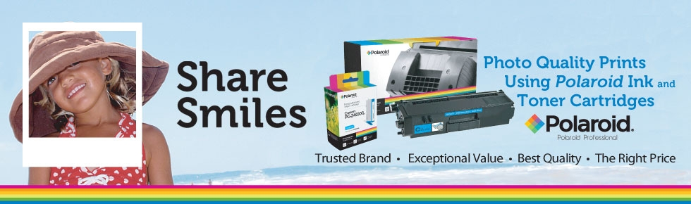 For All Types of Printers And All Your Printing Needs, Click To Order Your Polaroid Ink Jet and Toner Cartridges Today From The Polaroid Professionals!
