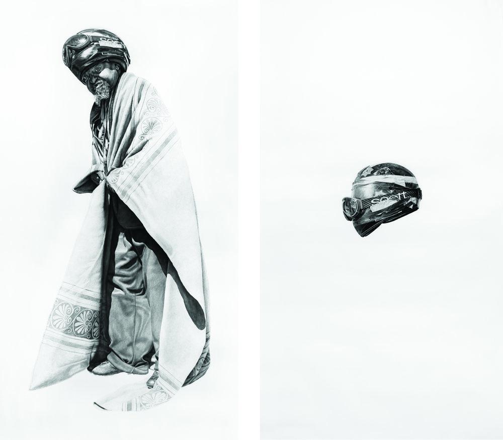 Spaceman O.T. #7 & Spaceman's Helmet