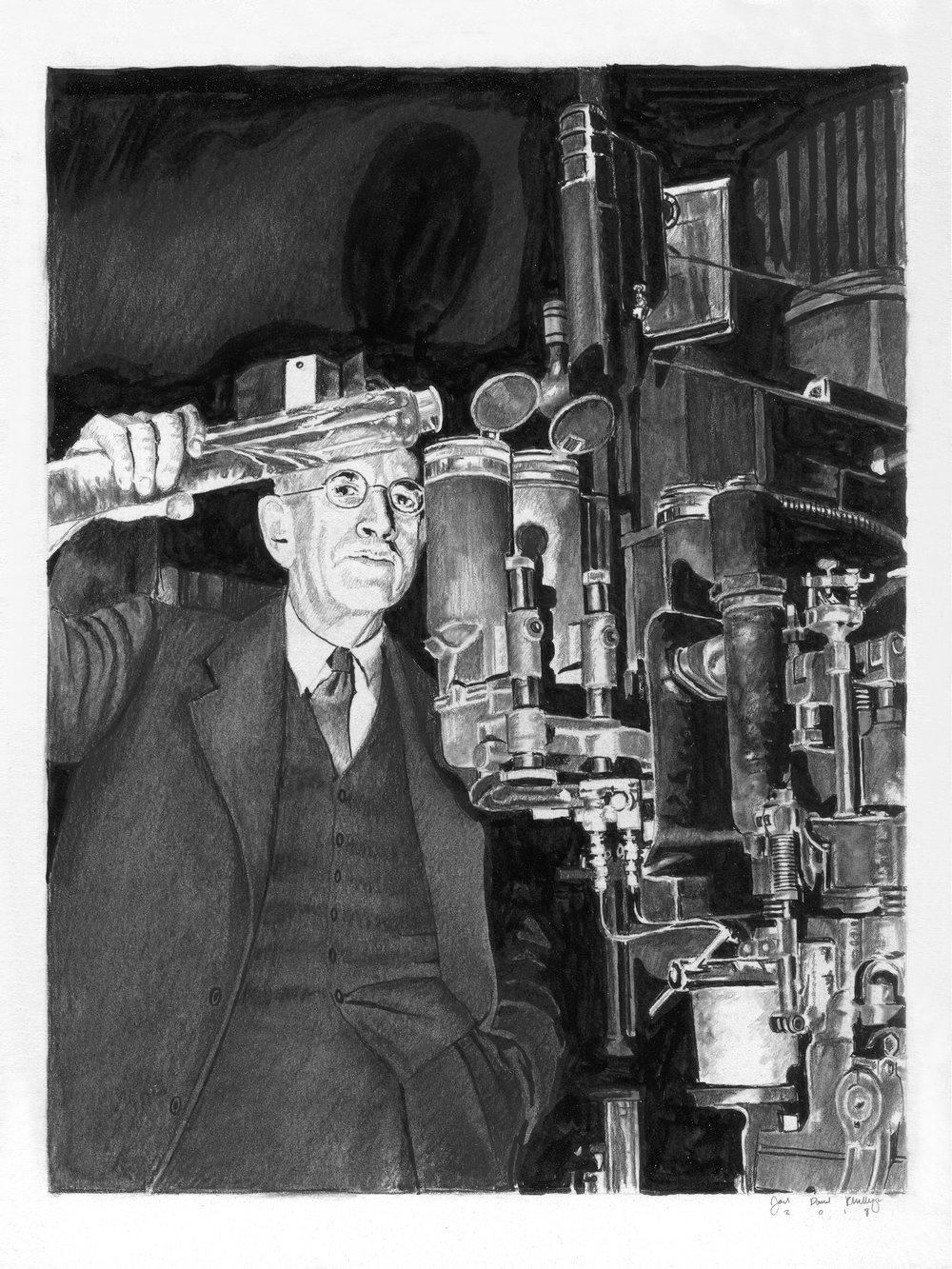 Dr. Clemenshaw's Petroleum Test Lab