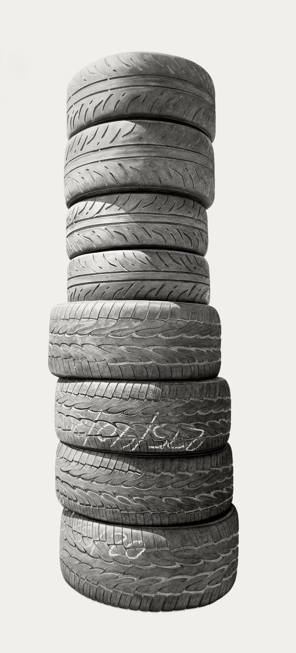 Neighborhood Still Life #4 (Tires)
