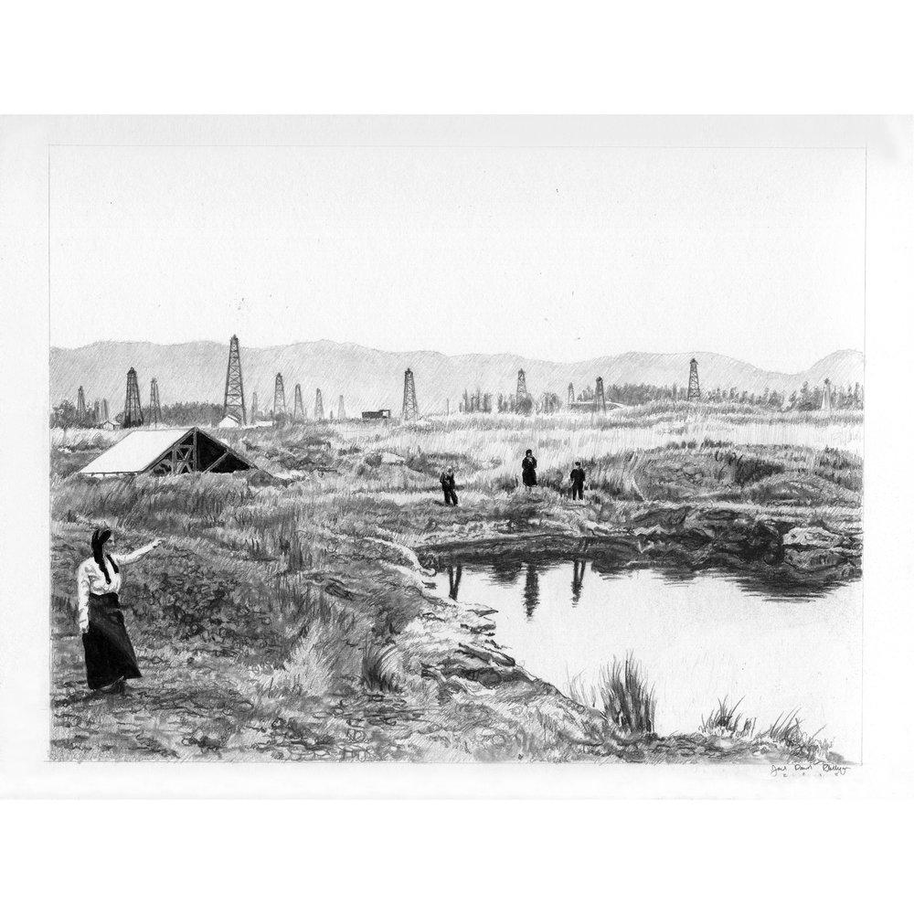 The Small Tar Pond