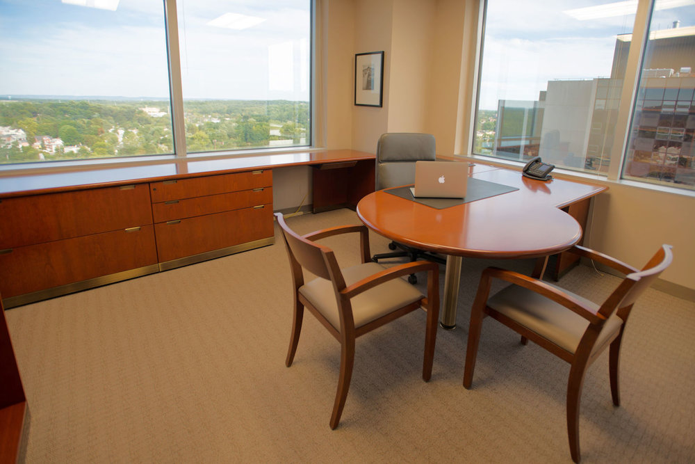 A MAESTRO Plus Office on the 12th Floor at Symphony Workplaces - Morristown