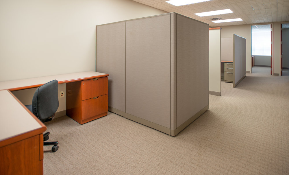 A three room/6 person Symphony Suite on the 3rd floor at Symphony Workplaces - Morristown