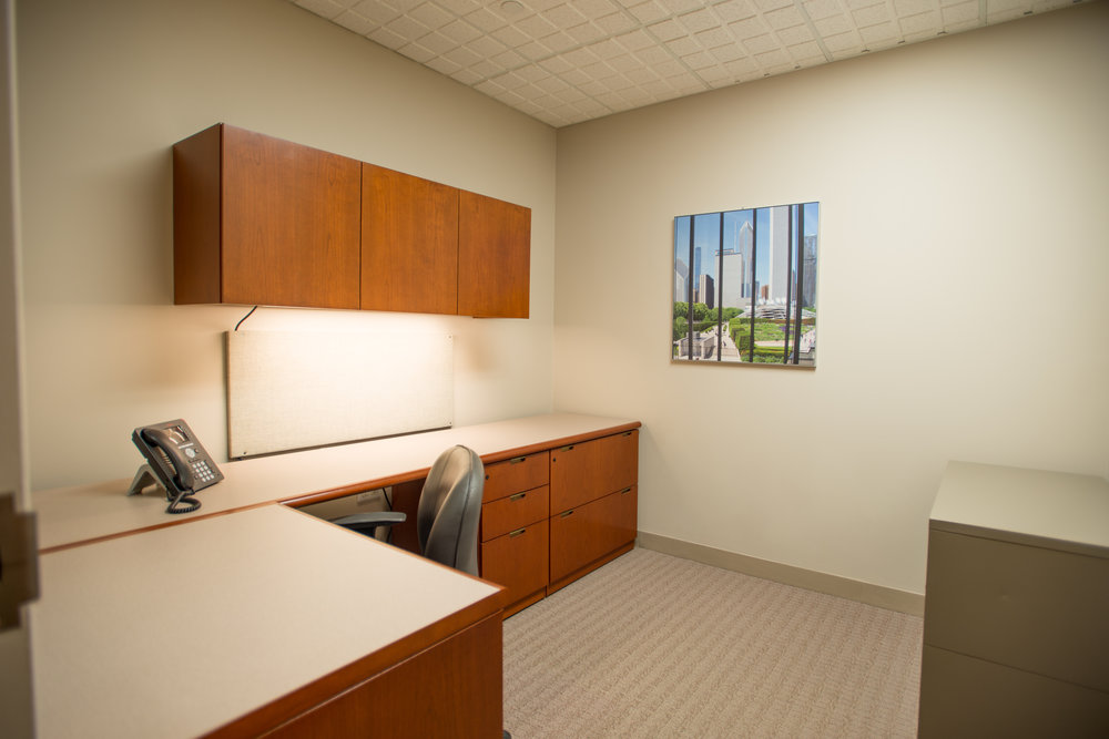 A SOLO Office on the 12th Floor at Symphony Workplaces - Morristown