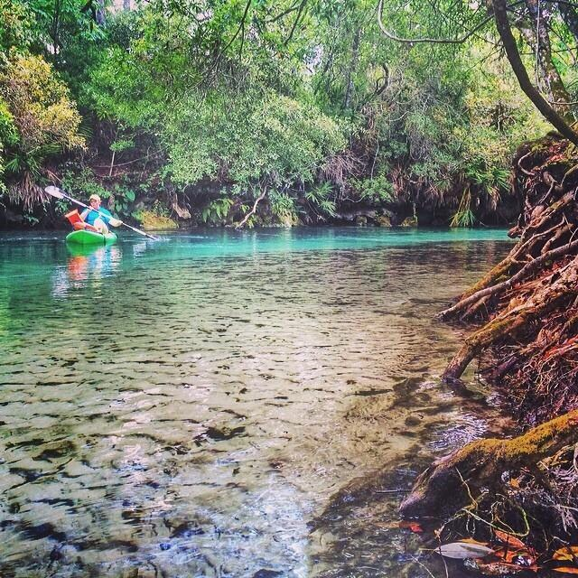 Paddling the Weeki Wachee