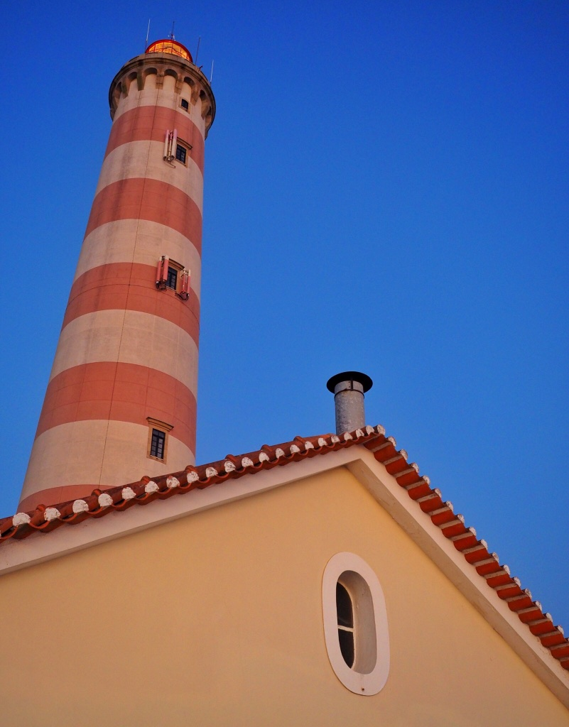 A lighthouse in Aveiro - one of our favorite destinations in 2015