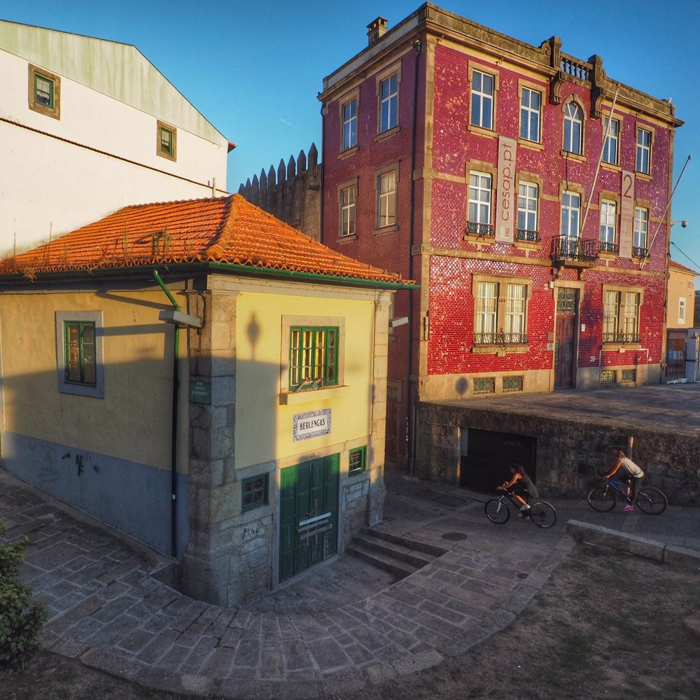 The center of Porto is a Unesco World Heritage site - wish we'd gotten a chance to explore it by bike\