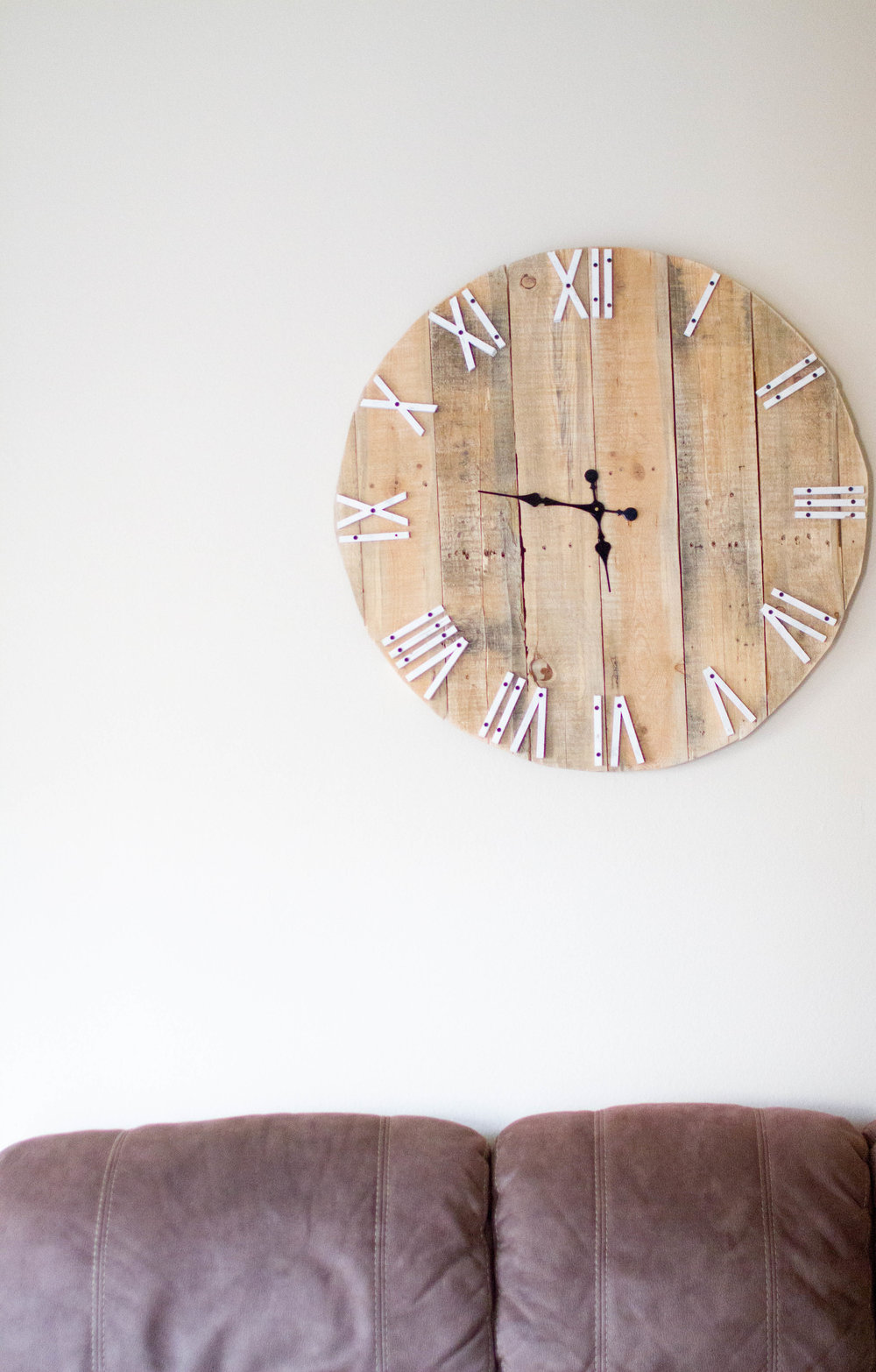 Shop similar Etsy clock  HERE  for $100