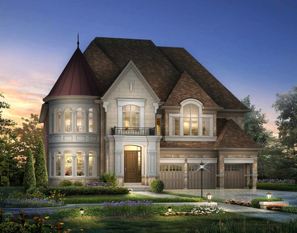 ELEVATION B 5353 sq. ft.