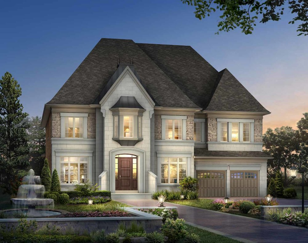 ELEVATION B 5817 sq. ft.