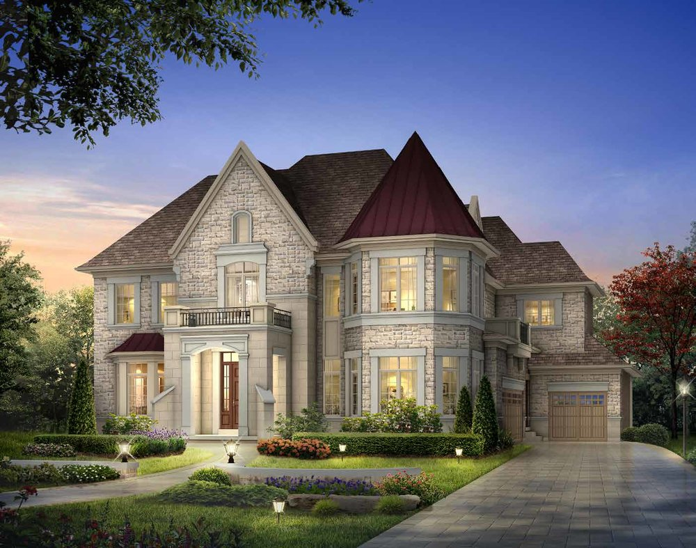 ELEVATION A 6166 sq. ft.
