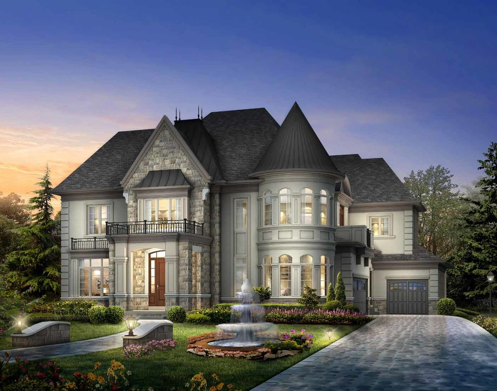 ELEVATION B 6136 sq. ft.