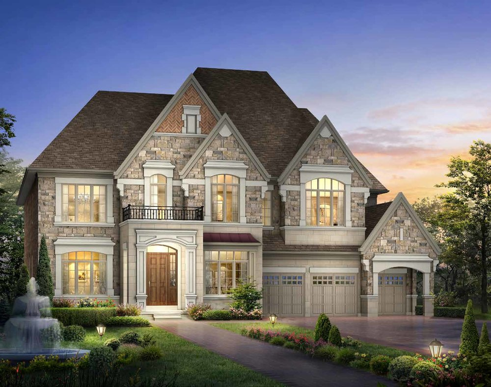 ELEVATION A 6905 sq. ft.