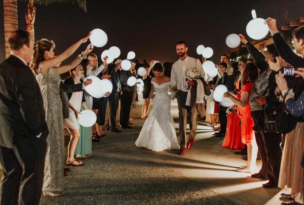 SamErica Studios Coronado Community Center Glow In The Dark Balloon Send Off
