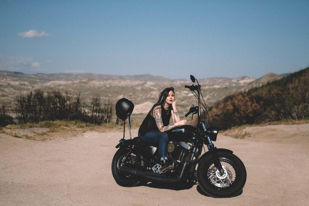 Edgy desert shoot - SamErica Studios