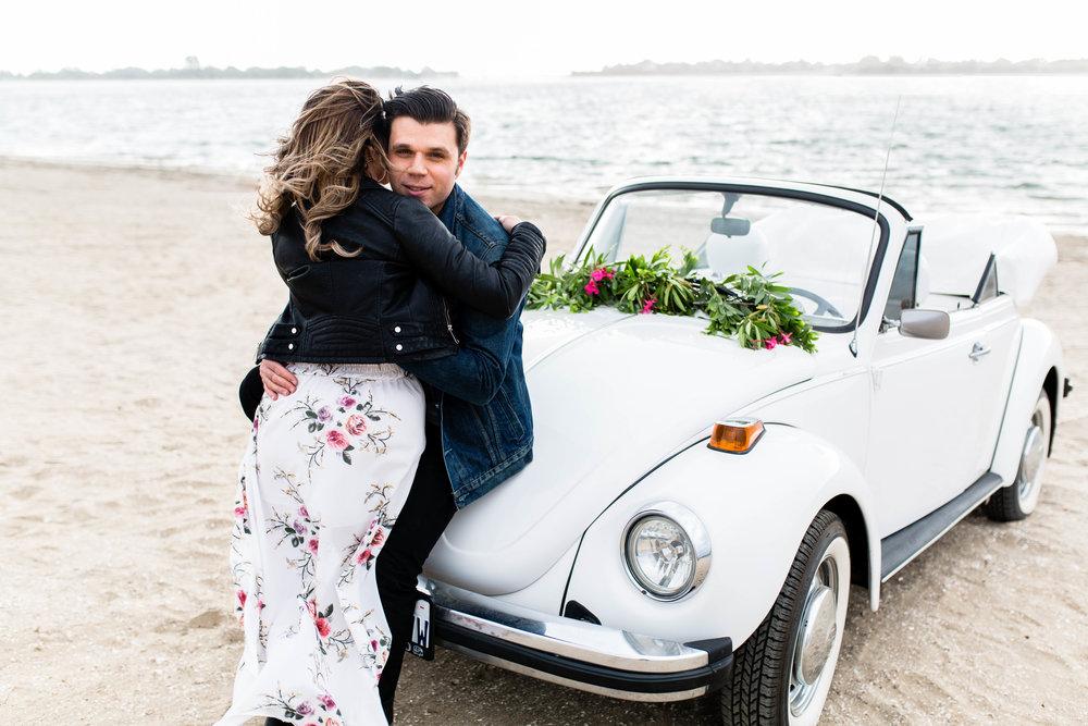 Edgy Engagement Photos SamErica Studios California