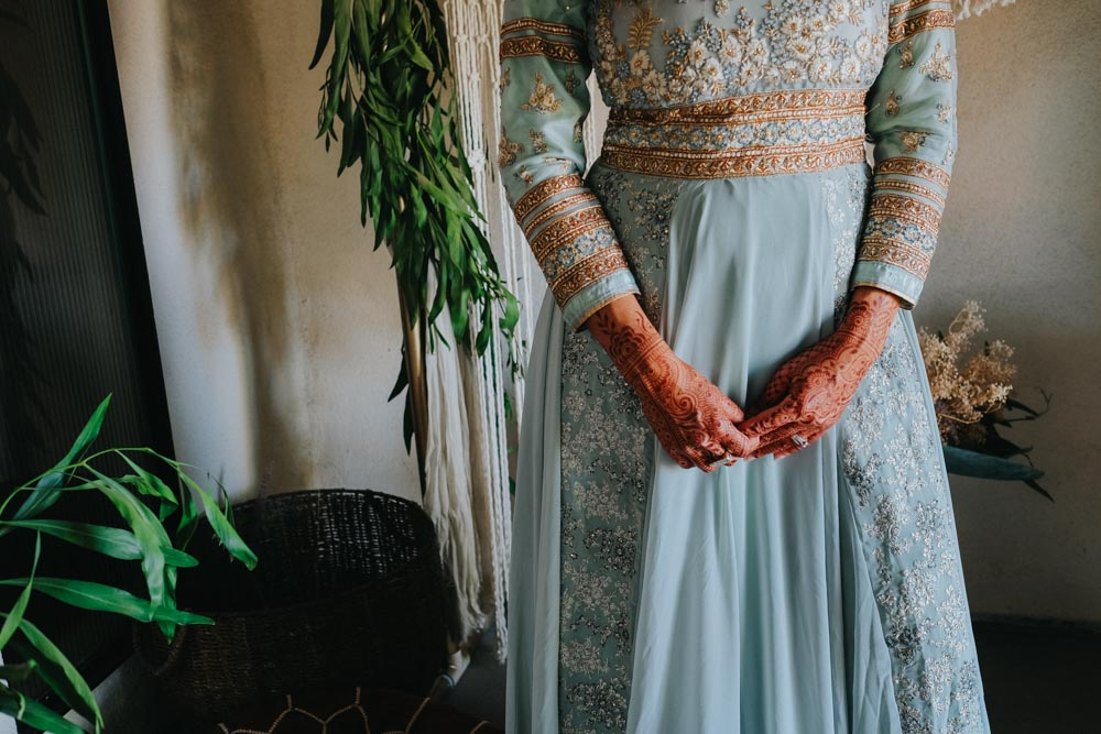 Teal Dress - Aladdin Styled Shoot