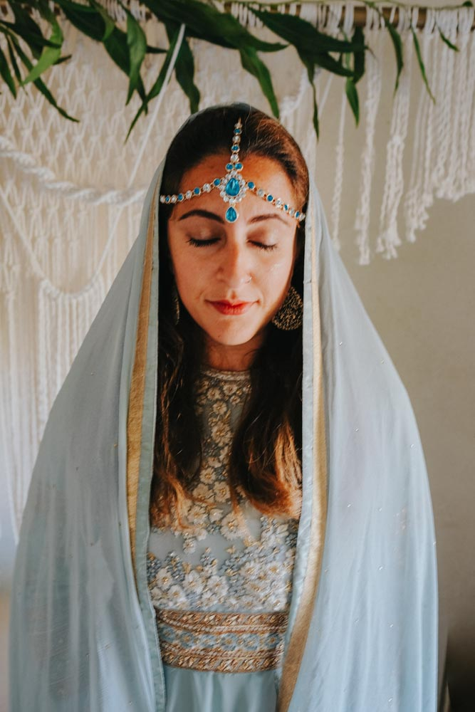 Indian Headpiece - Aladdin Styled Shoot