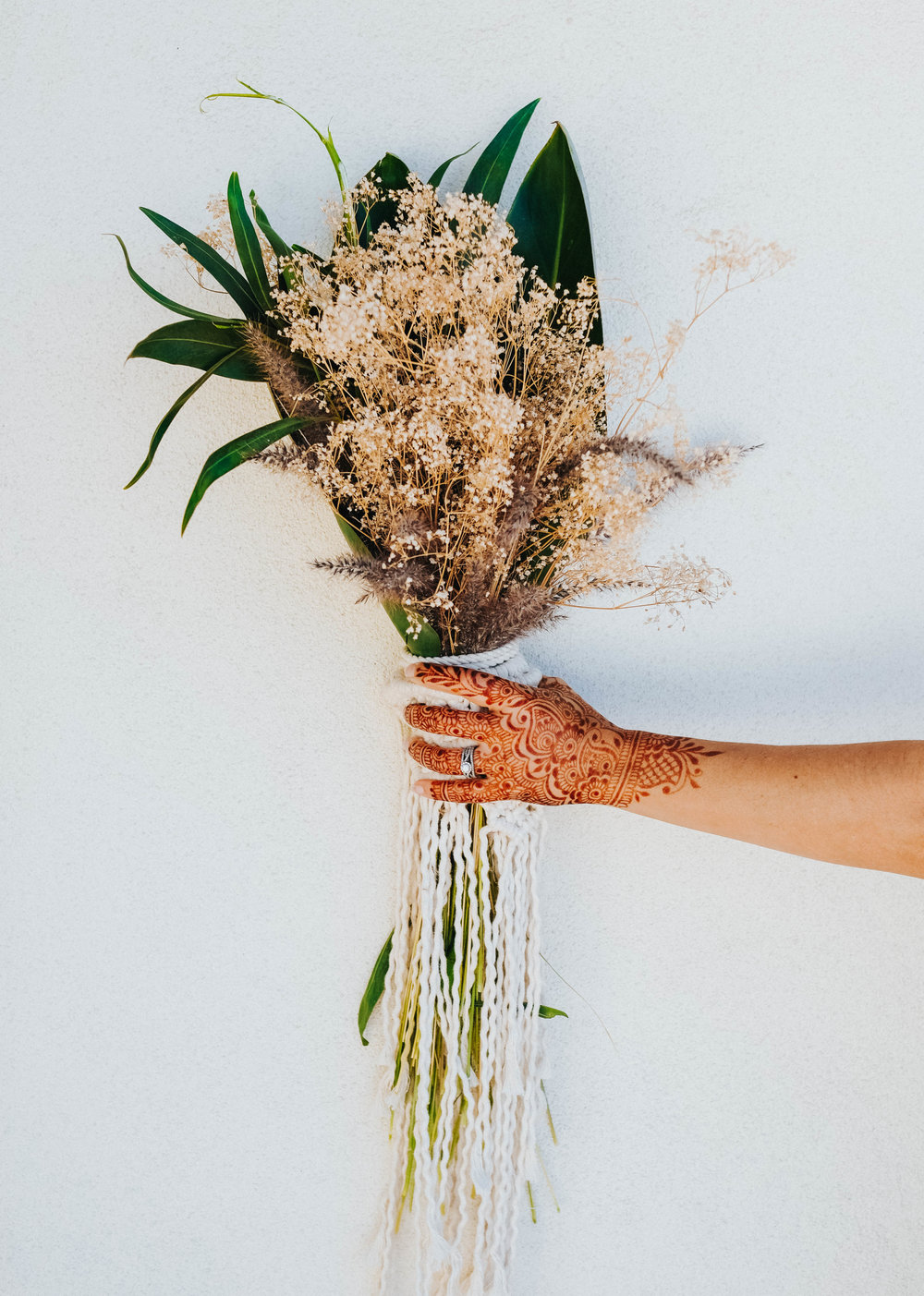 Macrame Bouquet - Aladdin Styled Shoot