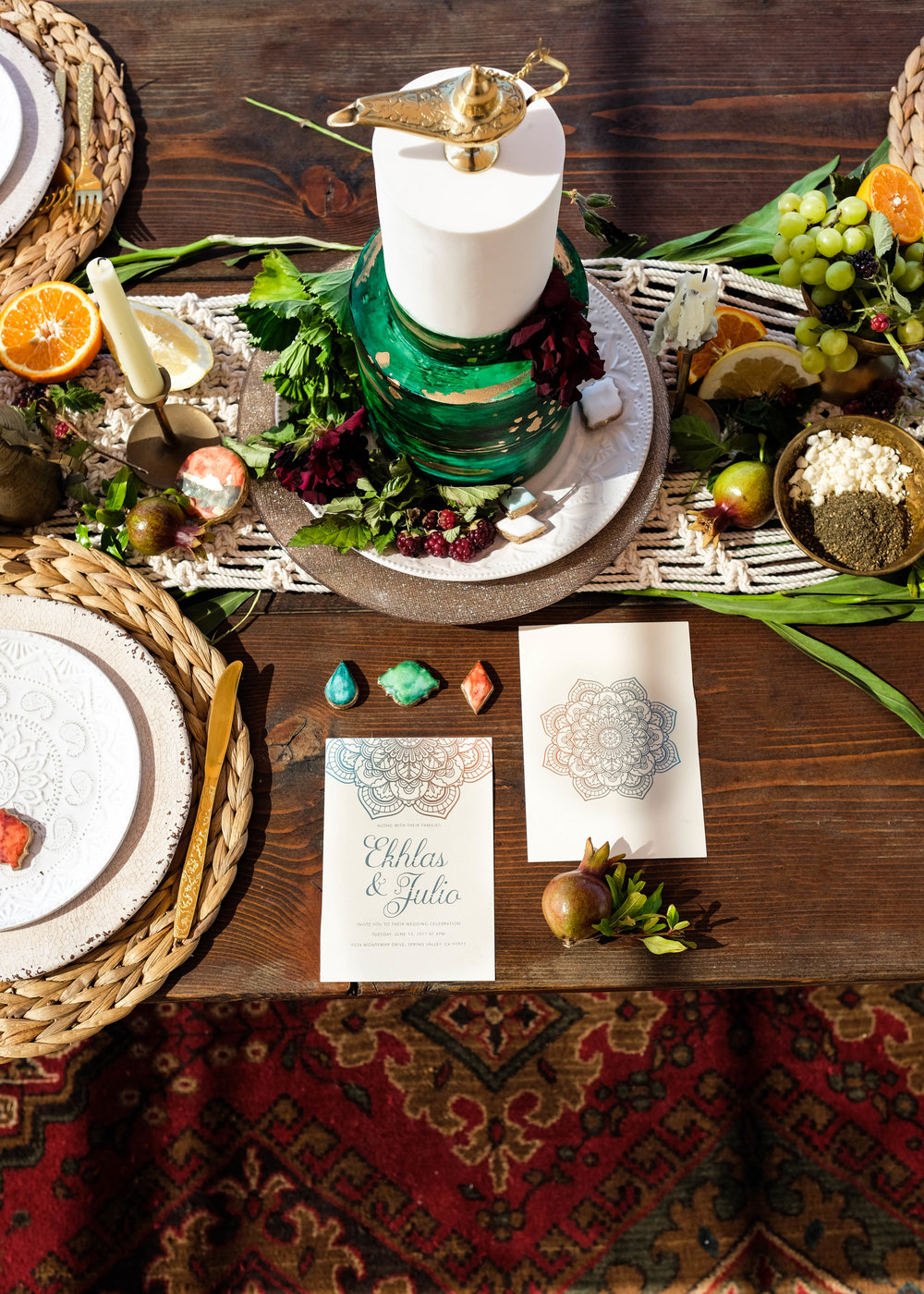 Mediterranean Stationary - Aladdin Styled Shoot