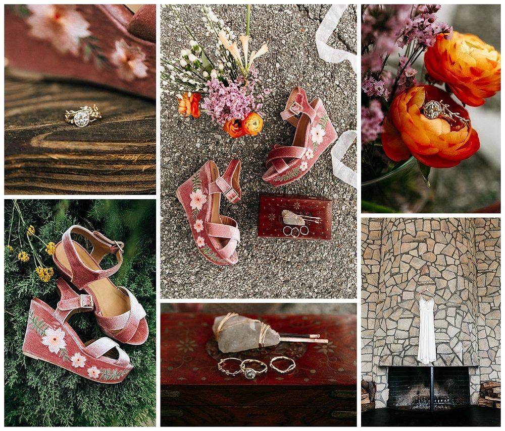 SamErica Studios - colorful urban wedding details