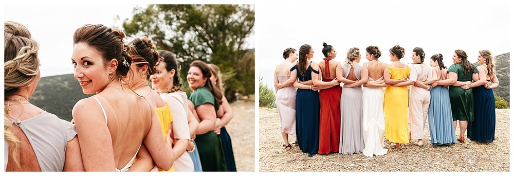 SamErica Studios - Colorful Malibu wedding dresses