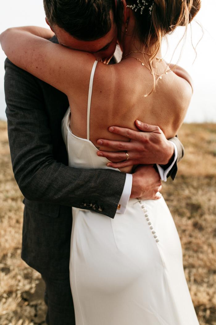 SamErica Studios - intimate Couples portraits mountaintop wedding in Malibu