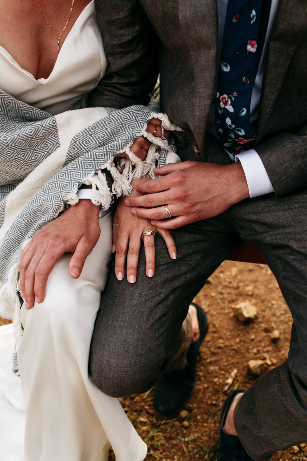 SamErica Studios - wedding rings and warm hands