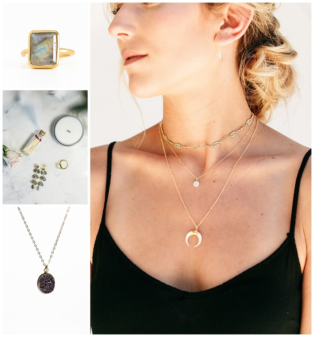 SamErica Studios - waffles and honey minimalist jewelry san francisco