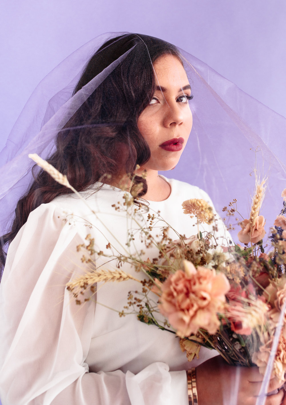 SamErica Studios - Lavender Lemonade Modern Bridal Editorial -45.jpg