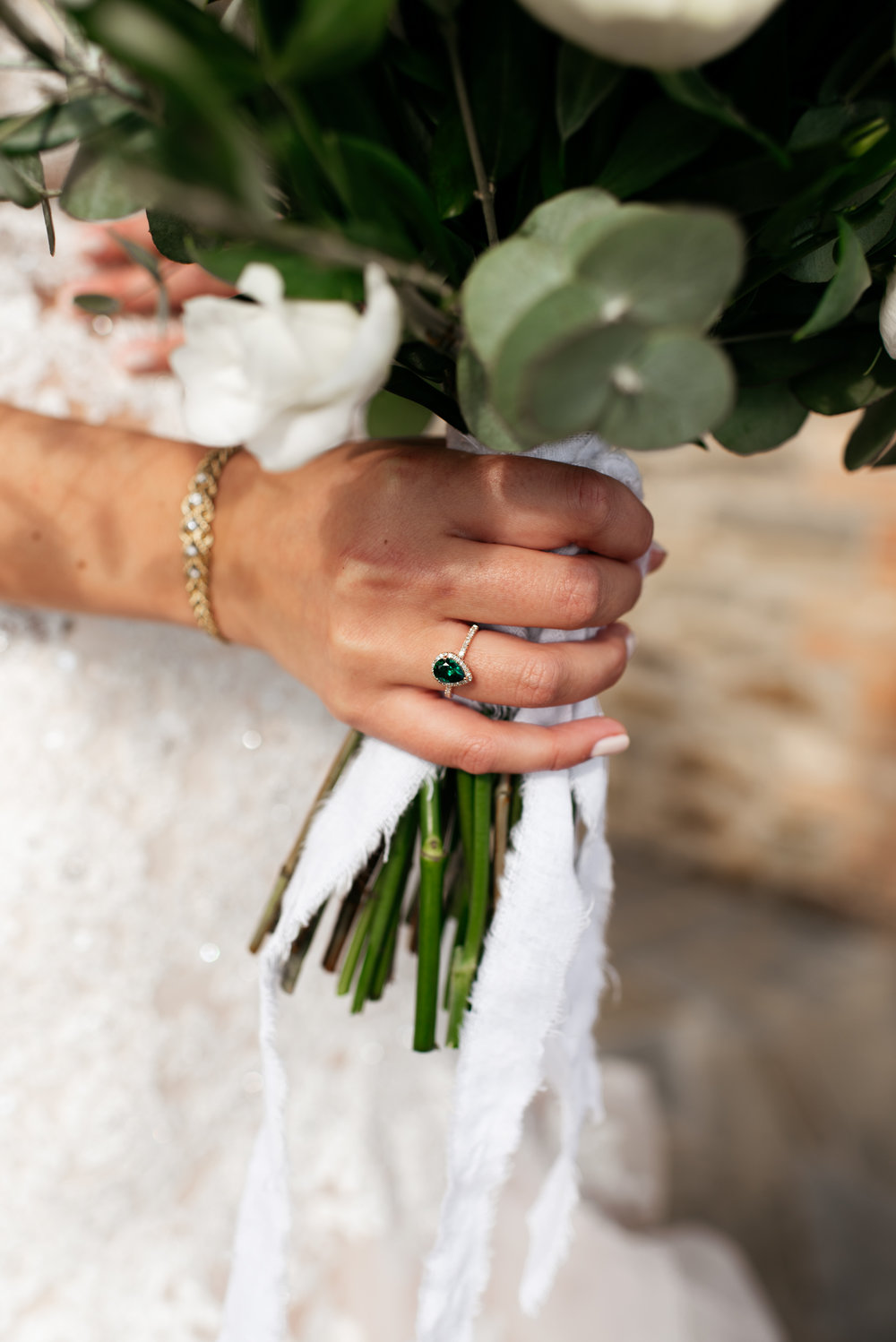SamErica Studios - Amalfi Italy -  Modern Destination Wedding photographers - emerald engagement ring