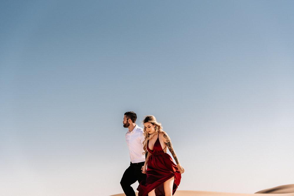 SamErica Studios - Modern San Diego Engagement Photographer - Adventure Engagement Session in Glamis Sand Dunes California-9.jpg