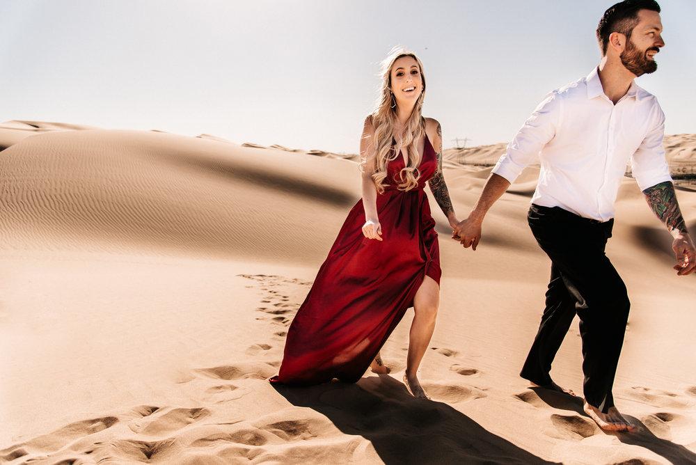 SamErica Studios - Modern San Diego Engagement Photographer - Adventure Engagement Session in Glamis Sand Dunes California-10.jpg