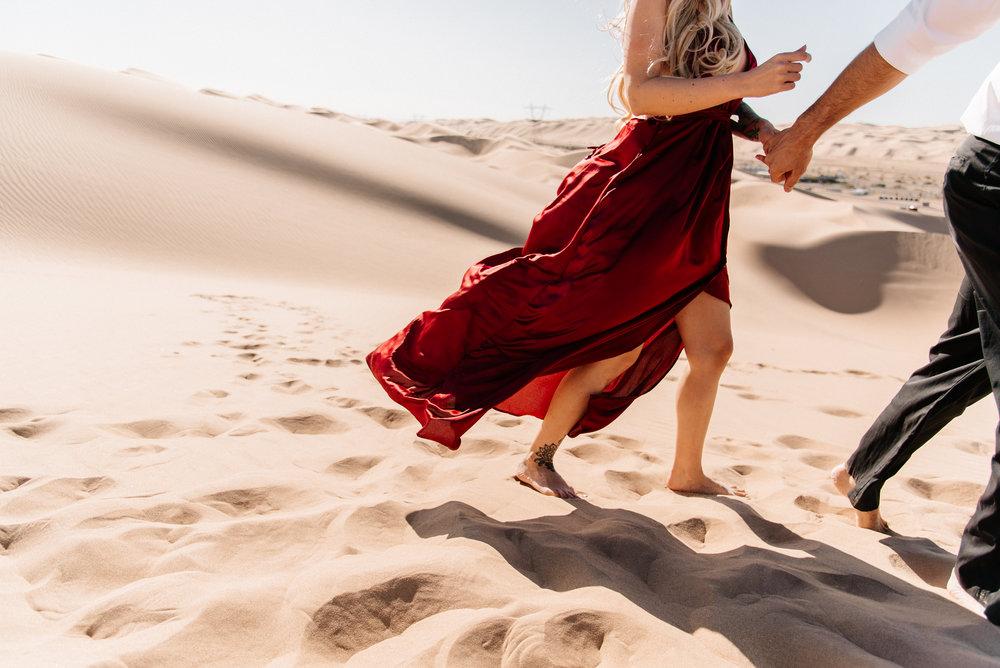 SamErica Studios - Modern San Diego Engagement Photographer - Adventure Engagement Session in Glamis Sand Dunes California-11.jpg